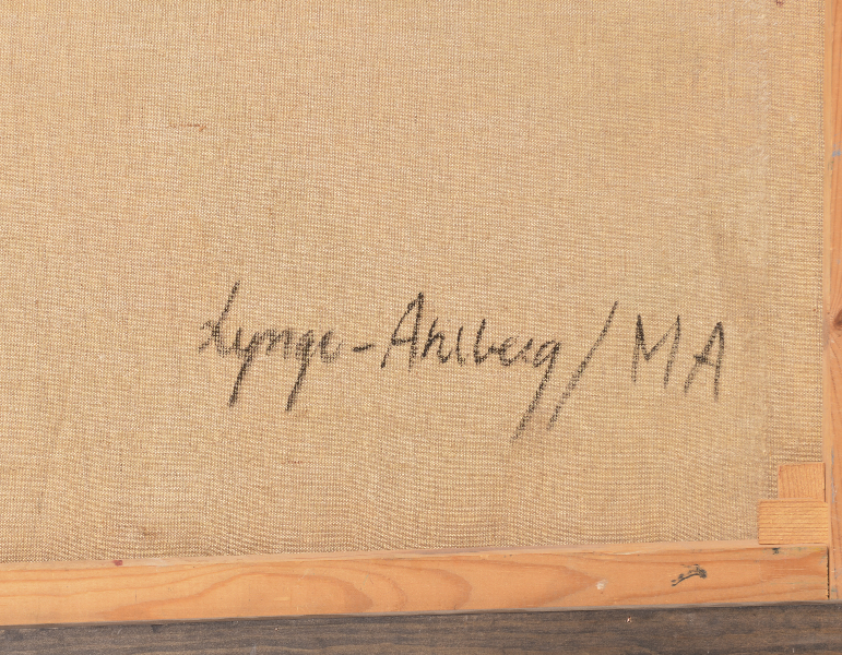 Lynge Ahlberg bak